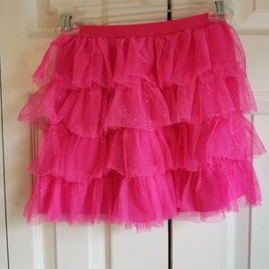 Children's place Girls ruffle skirt